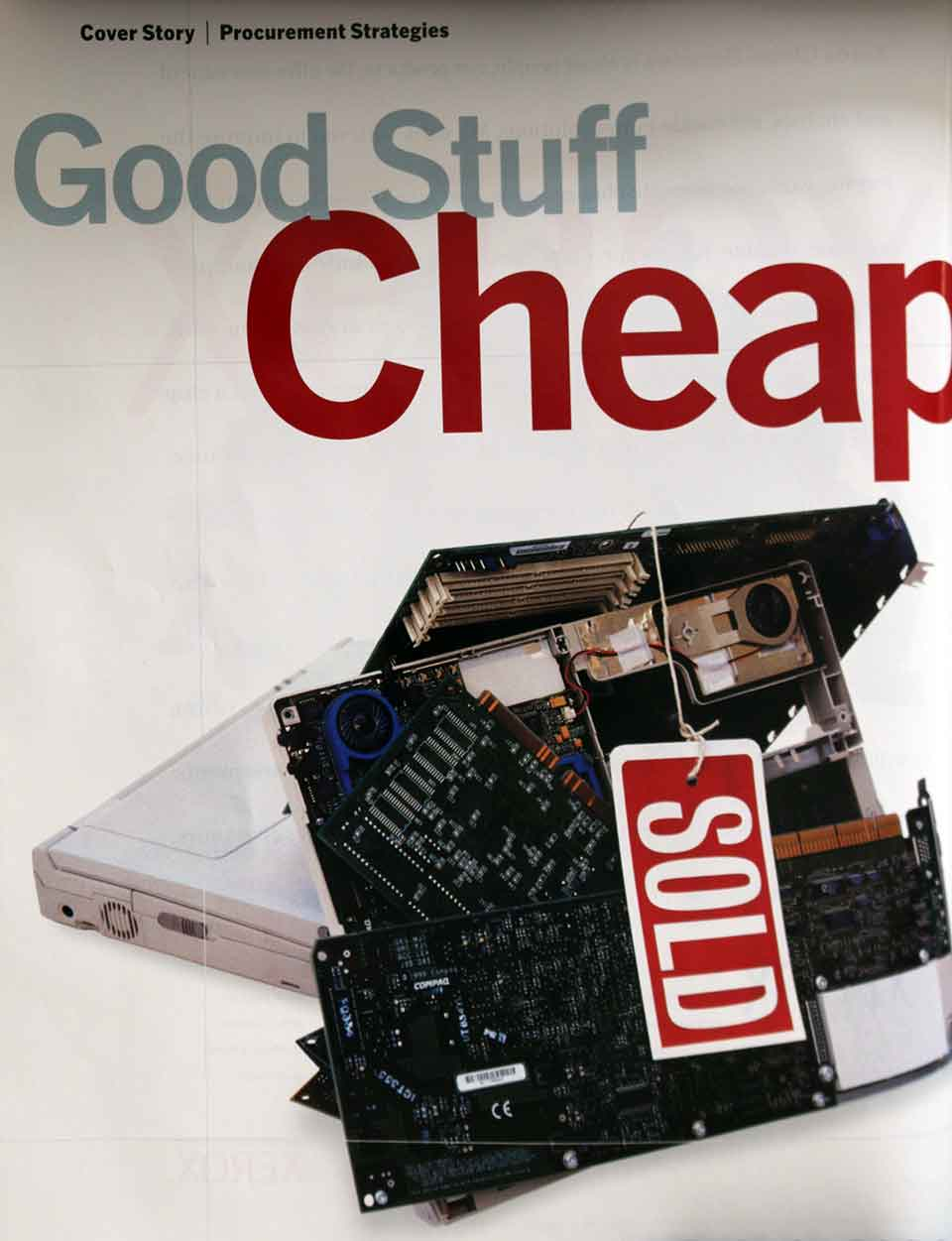 CIO Magazine - Good Stuff Cheap