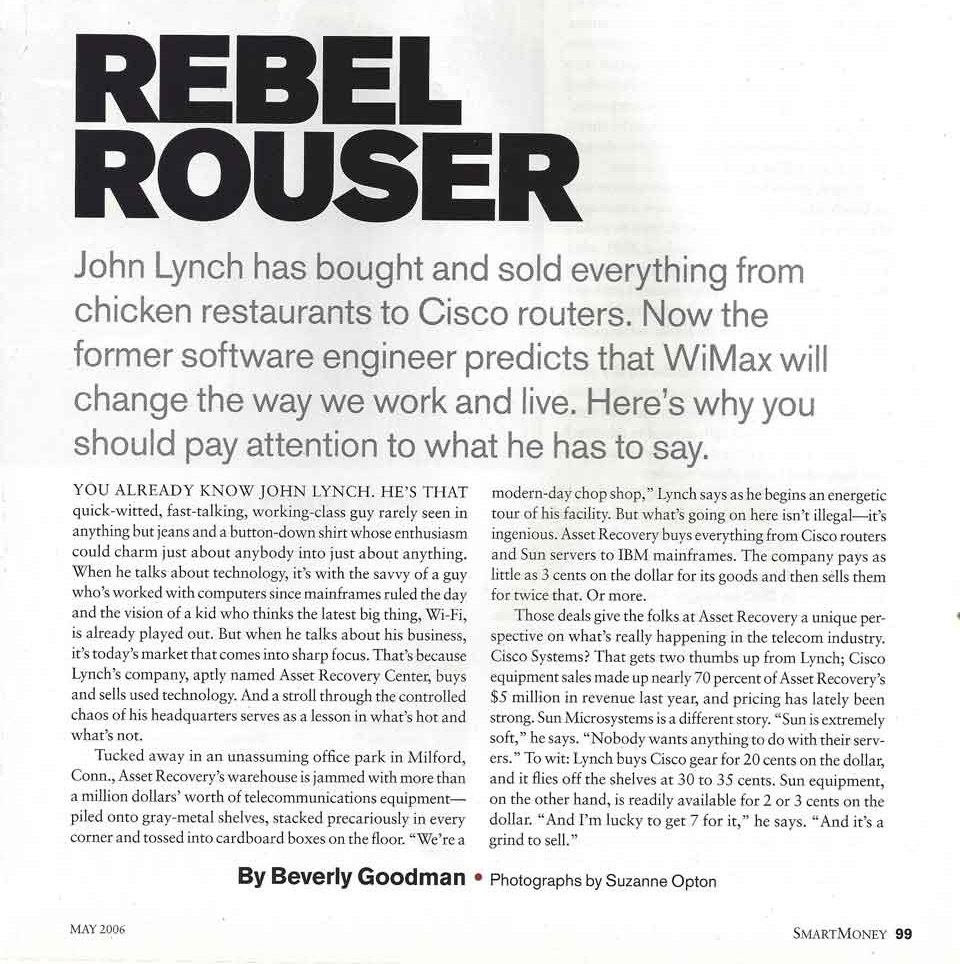Smart Money Magazine - Rebel Rouser